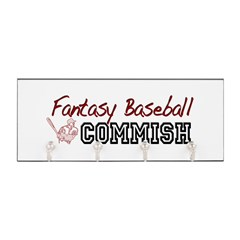 Fantasy Baseball Commish Key Hanger