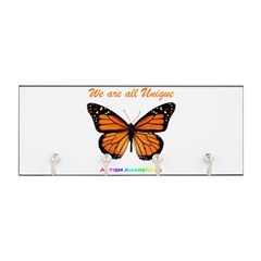 Butterfly: Autism Awareness Key Hanger