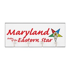 Maryland Eastern Star Key Hanger