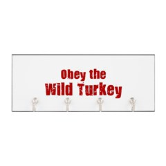 Obey the Wild Turkey Key Hanger
