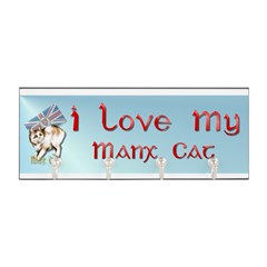 Manx Cats Key Hanger