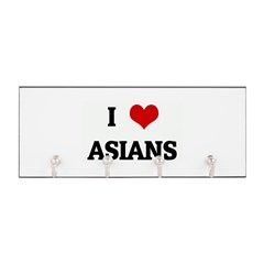 I Love ASIANS Key Hanger