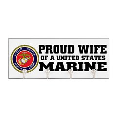 Marine Proud Wife Key Hanger