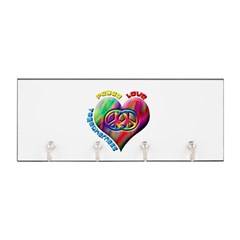 Peace Love Togetherness Key Hanger
