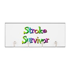 Stroke Survivor Key Hanger