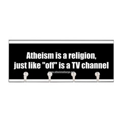 Atheism TV Key Hanger