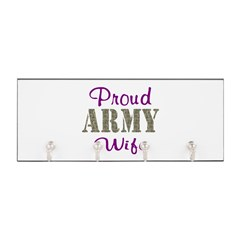 Army Purple Home/Office Key Hanger