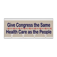 Give Congress Healthcare Key Hanger