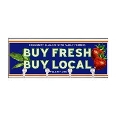 Buy Fresh Buy Local classic Key Hanger