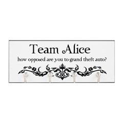 Team Alice Theft Key Hanger