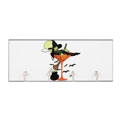 Halloween Martini Girl Key Hanger