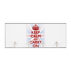 Keep Calm and Carry On Key Hanger