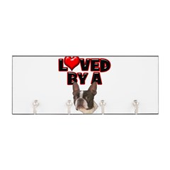 Loved by a Boston Terrier Key Hanger