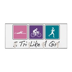 Tri Like A Girl Triathlete Key Hanger