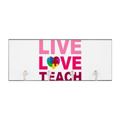 Live Love Teach Autism Key Hanger