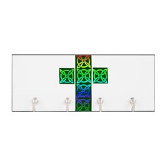 Glowing Celtic Cross Key Hanger