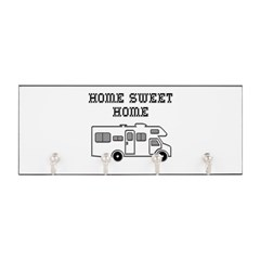 Home Sweet Home Mini Motorhome Key Hanger