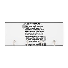Black Elk Spirit Quote Key Hanger