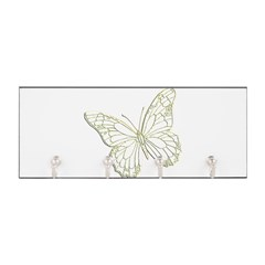 Embossed Butterfly Key Hanger