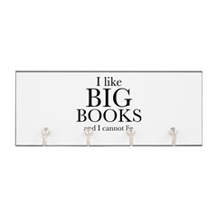I LIke Big Books Key Hanger