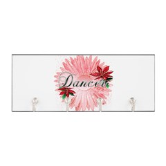 Dancer Pink Snow Flower Key Hanger