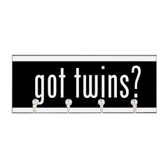 got twins? Key Hanger