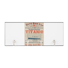 Titanic Advertising Card Key Hanger