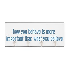 Behave / Believe Key Hanger