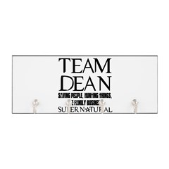 Team Dean Supernatural Winchester Key Hanger