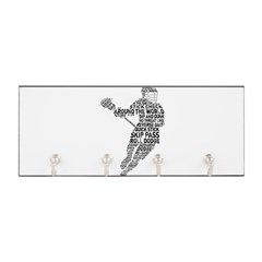 Lacrosse LAX Player Key Hanger