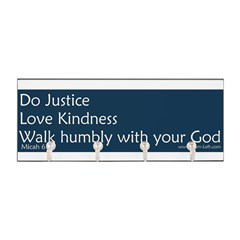Bumper Sticker - Micah 6:8 Key Hanger