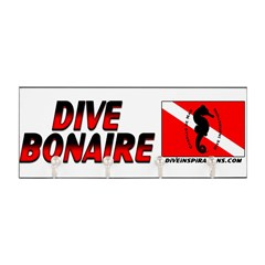 Dive Bonaire (red) Key Hanger