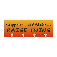 Support Wildlife - Raise Twin Key Hanger