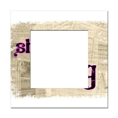 Shut Up and Sing Square Locker Frame