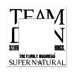 Team Dean Supernatural Winchester Square Locker Frame