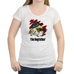 The Dogfather Womens Burnout Tee