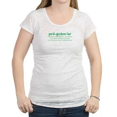 Programmer Problems Womens Burnout Tee