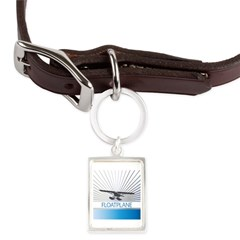 Aircraft Float Plane Large Portrait Pet Tag