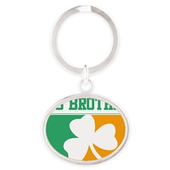BIG BROTHER (Irish) Oval Keychain