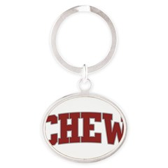 CHEW Design Oval Keychain