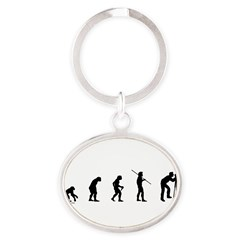 Photog Evolution Oval Keychain