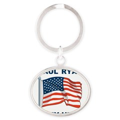 Paul Ryan is my Hero! Oval Keychain