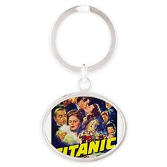 $9.99 Titanic Movie Oval Keychain