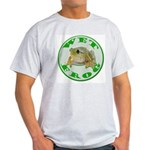 Wet Pond Frog Ash Grey T-Shirt