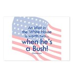 Idiot in the White House Postcards (Package of 8)