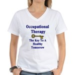 Occupational Therapy Women's V-Neck T-Shirt