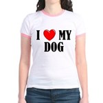Love My Dog Jr. Ringer T-Shirt