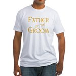 Sherbet Father of the Groom Fitted T-Shirt