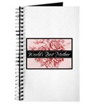 Pink Toile World's Best Mother Mom Journal