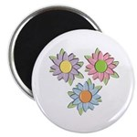 Pretty Mother's Day Cartoon Flowers Magnet